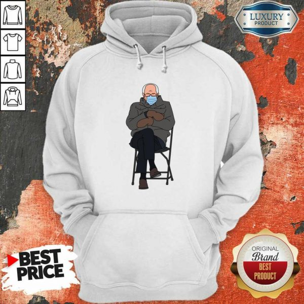 Ashamed Bernie Sanders Meme 4 Inauguration Day Hoodie - Design by Eushirt.com