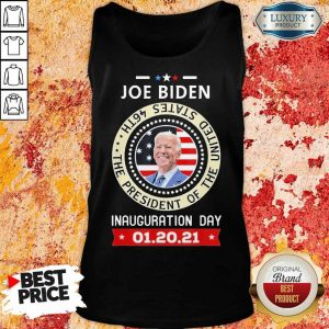 Frustrated Joe Biden Inauguration Day 46th 2021 Tank Top