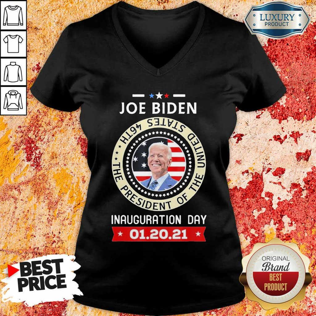 Frustrated Joe Biden Inauguration Day 46th 2021 V-neck