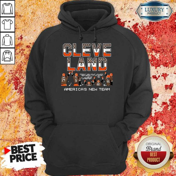 Great Cleveland Browns Americas New Team 9 Hoodie