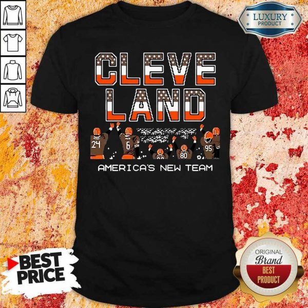 Great Cleveland Browns Americas New Team 9 Shirt
