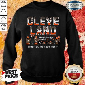 Great Cleveland Browns Americas New Team 9 Sweatshirt