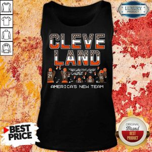 Great Cleveland Browns Americas New Team 9 Tank Top