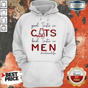 Hurt Cats Bad In 2 Men #catmomlife Hoodie