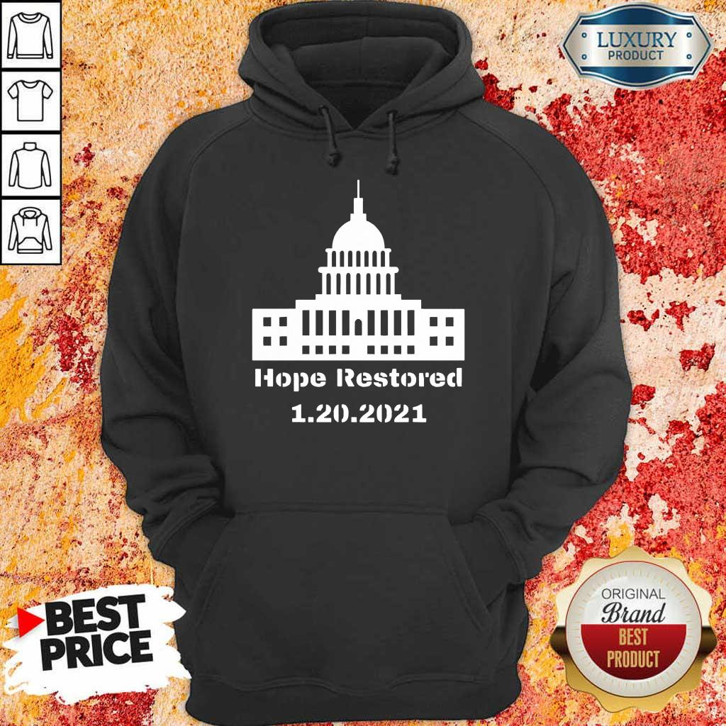 Malicious Hope Restored 1 To The White House Hoodie - Design by Eushirt.com