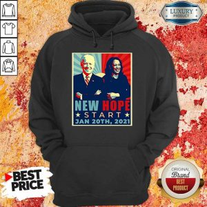 Sad Joe Biden Kamala Harris January 20-2021 Hoodie - Design by Eushirt.com
