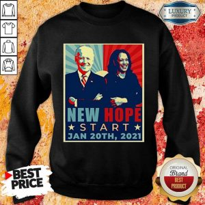 Sad Joe Biden Kamala Harris January 20-2021 Sweatshirt - Design by Eushirt.com