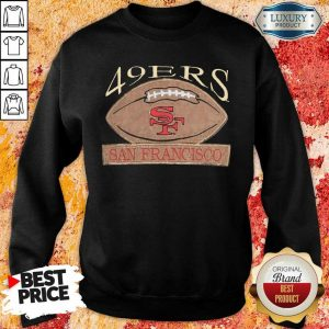Tired 49ers Football 9 San Francisco Vintage Sweatshirt - Design by Eushirt.com
