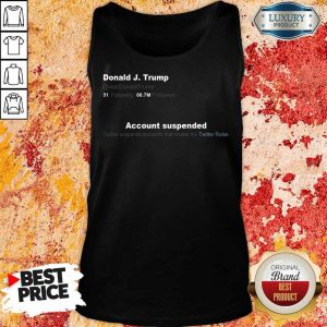 Upset Trump Twitter Account 6 Tank Top
