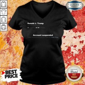 Upset Trump Twitter Account 6 V-neck