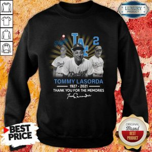Wonderful Tommy Lasorda 1927 2021 Sweatshirt