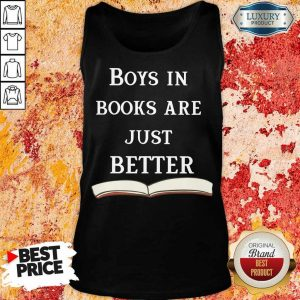 30 Boys In Books Are Just Better Tank Top