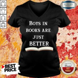 30 Boys In Books Are Just Better V-Neck