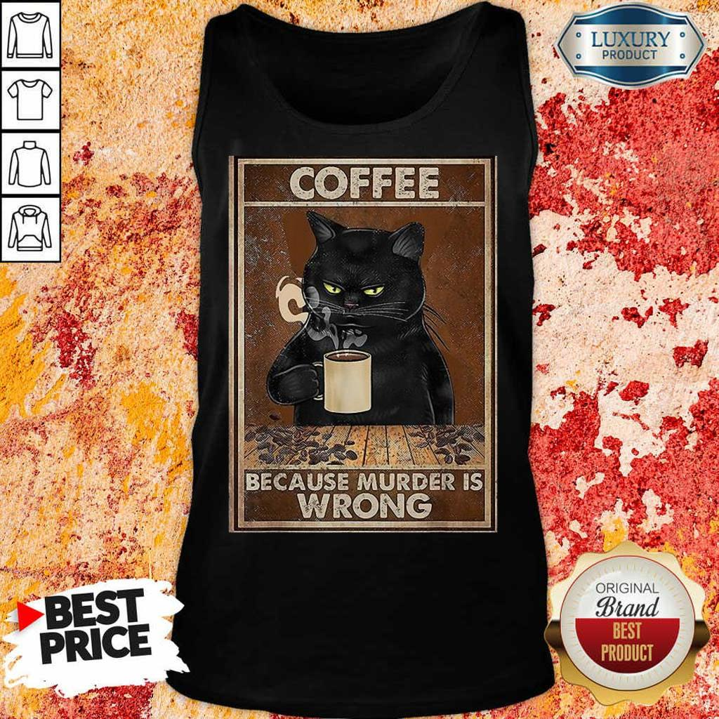 8 Black Cat Drink Just Is the Wrong Tank Top