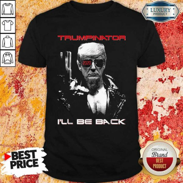 89 Official Trump Will Back Too Shirt