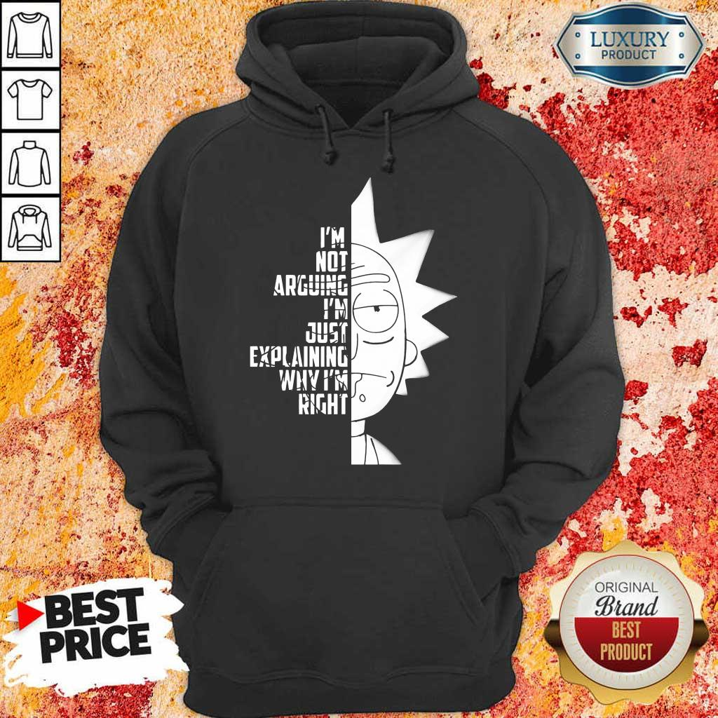 9 Really Rick And Morty Right Hoodie