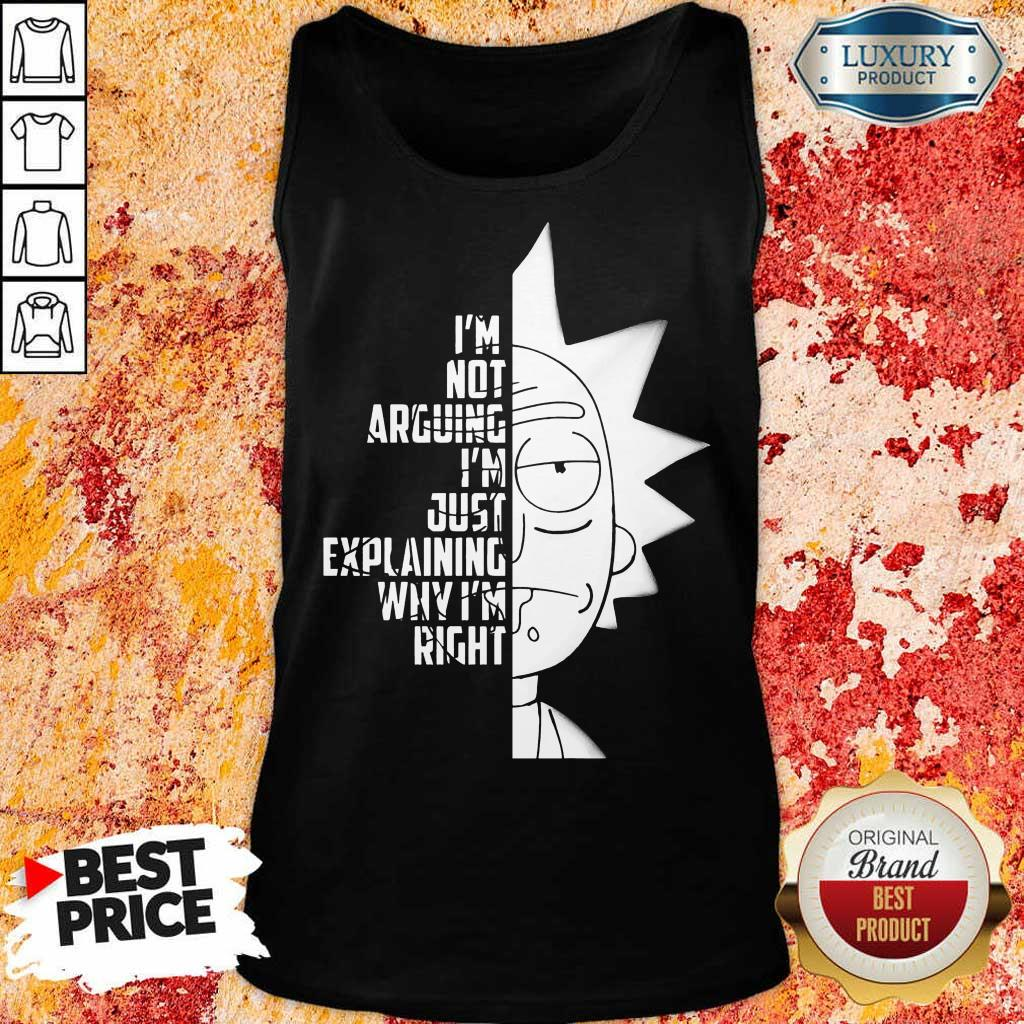 9 Really Rick And Morty Right Tank Top