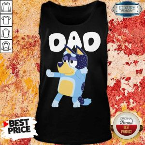 Absolutely Bluey Dad 8 Tank Top