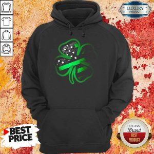 Amused 2021 Firefighter St Patricks Day Hoodie