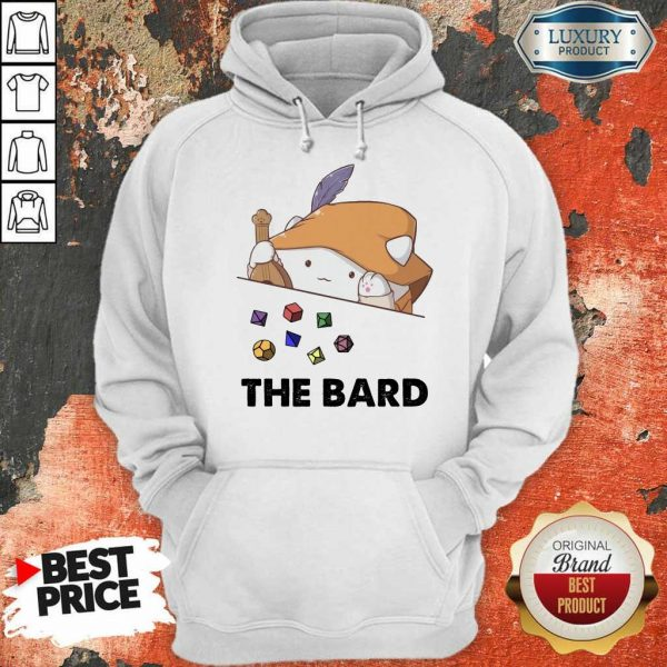 Awesome The Bard Cat Hoodie