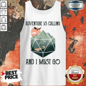 Confident 14 Adventure Is Calling Tank Top