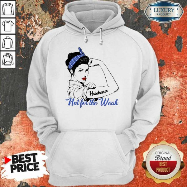 Confident 2 Strong Girl Hairdresser Hoodie