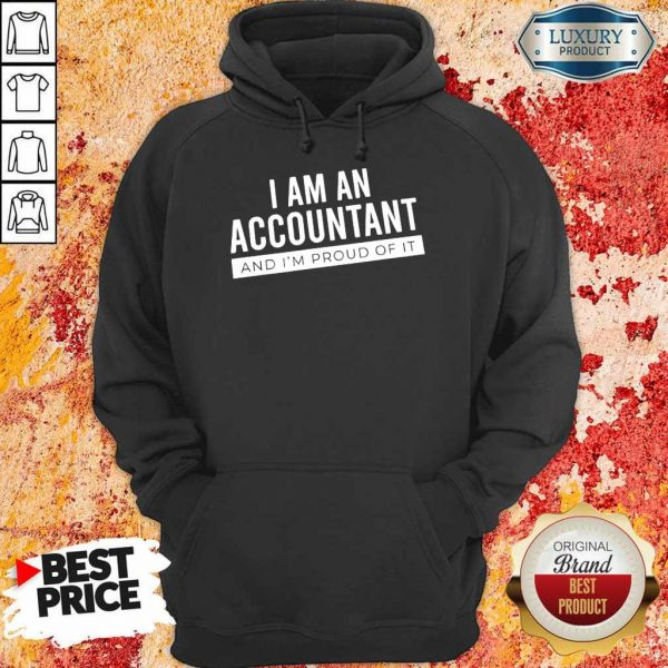 Delighted I Am An Accountant 5 Hoodie
