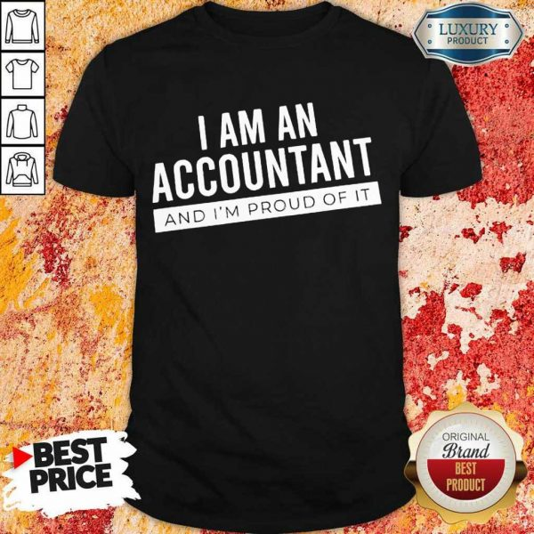 Delighted I Am An Accountant 5 Shirt