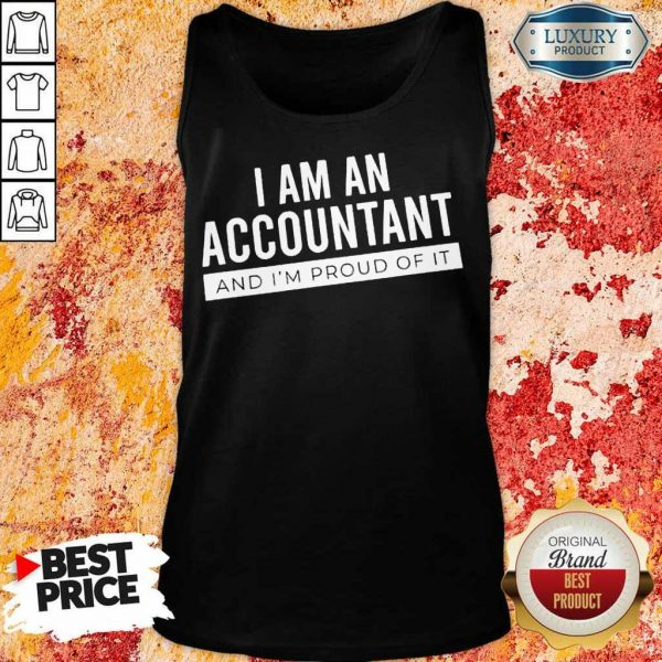 Delighted I Am An Accountant 5 Tank Top