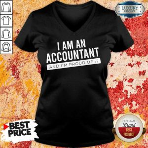 Delighted I Am An Accountant 5 V-neck