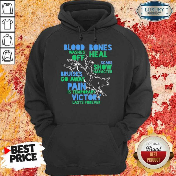 Great Cowboy Country Ranch Bull Rider 2021 Hoodie
