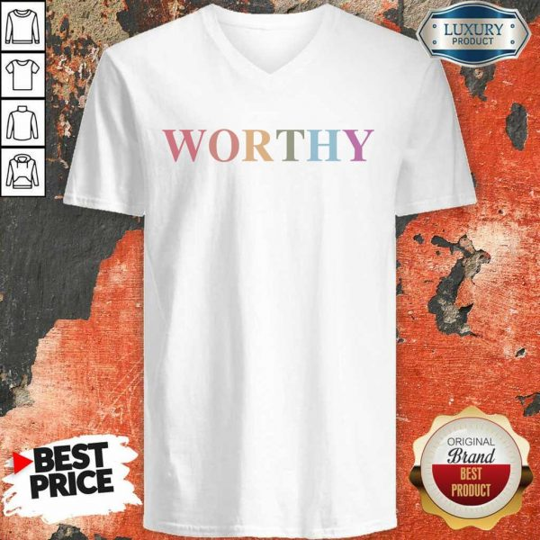 Hot Worthy LGBT V-Neck