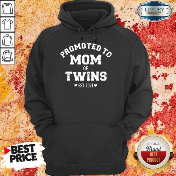Just Promoted To Mom 2021 Hoodie