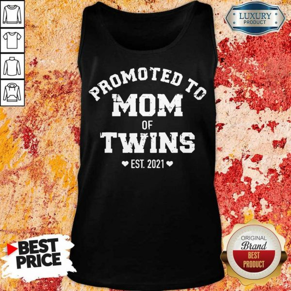 Just Promoted To Mom 2021 Tank Top