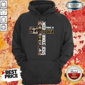 Official I Need Is 8 Lowa And Jesus Hoodie