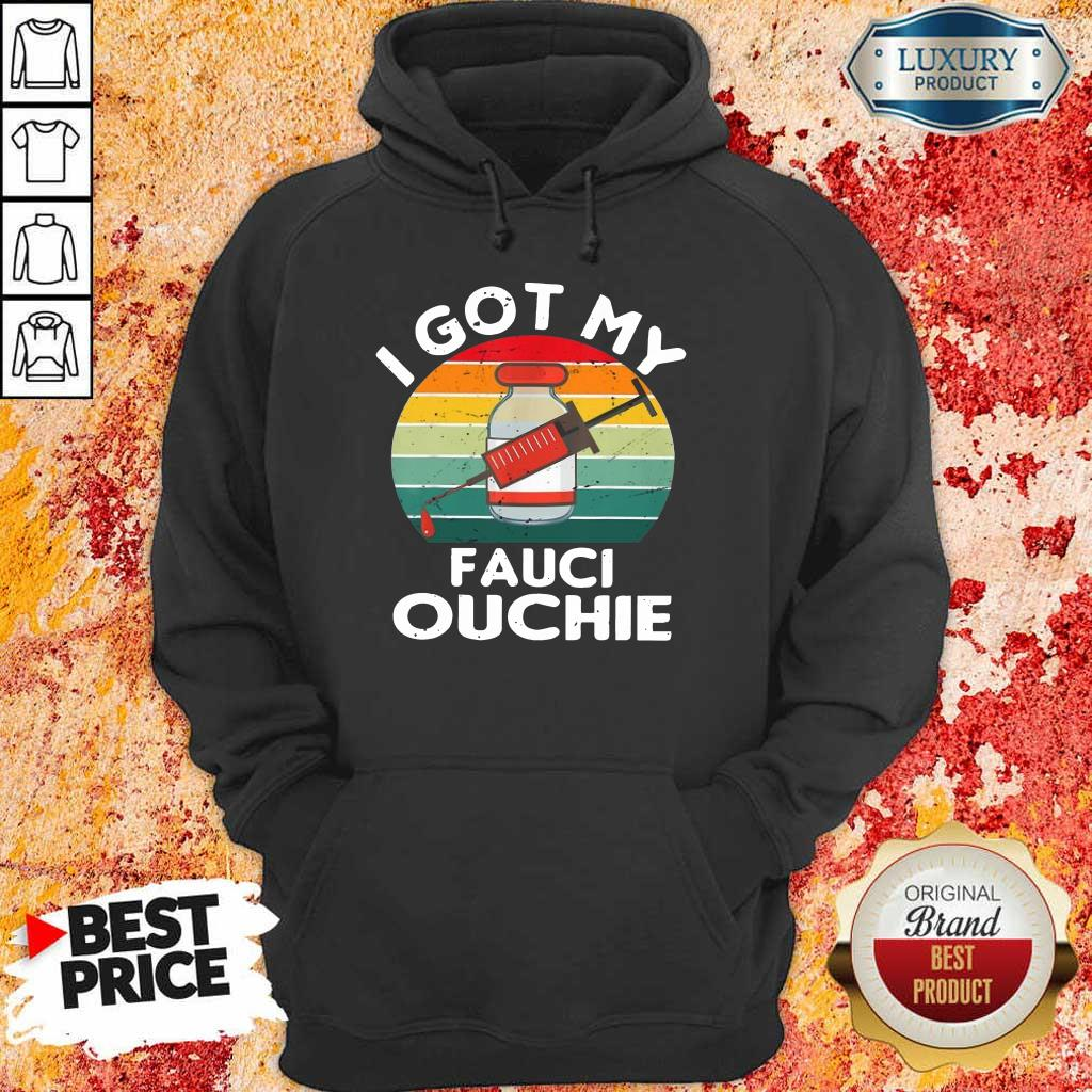 Official My Fauci Ouchie Vintage Hoodie