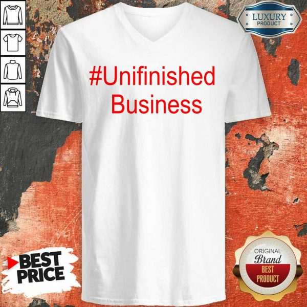 Premium Unfinished 2 Business V-Neck