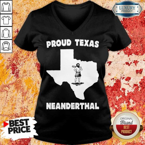 Really Proud Neanderthal V-Neck