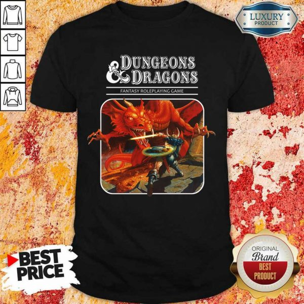 Right Roleplaying Game Dragons 1 Shirt