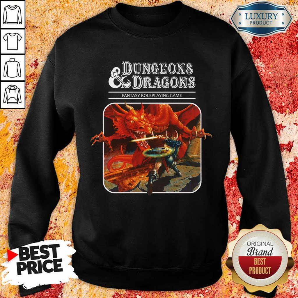 Right Roleplaying Game Dragons 1 Sweatshirt