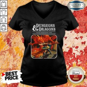 Right Roleplaying Game Dragons 1 V-Neck