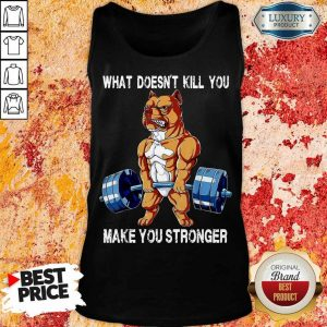 Top Bulldog Make You Stronger 14 Tank Top