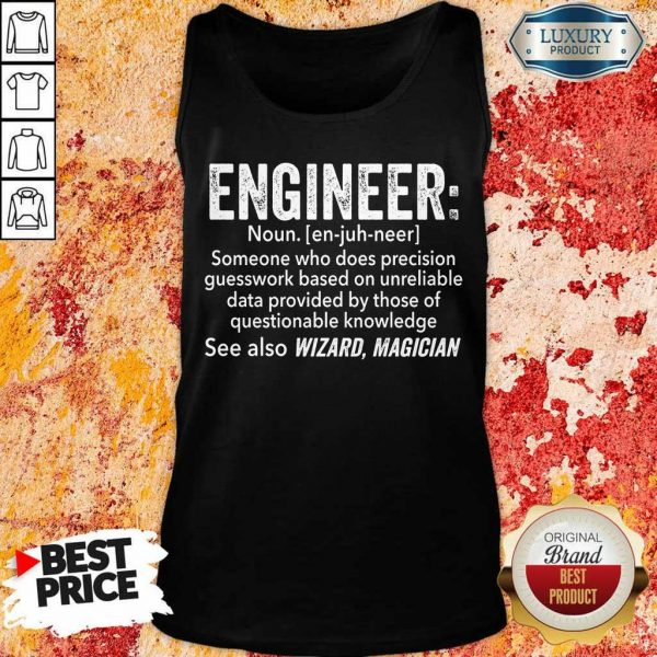Top Engineer See Also Wizard Magician Tank Top