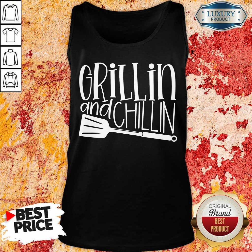 Grillin And Chillin Tank Top