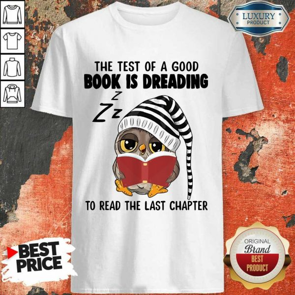 Book Is Reading Owl Shirt
