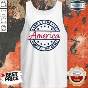 Home of the Brave America Tank Top