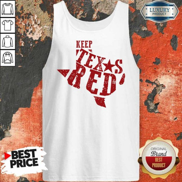 Keep Texas Red Chad Prather Tank Top