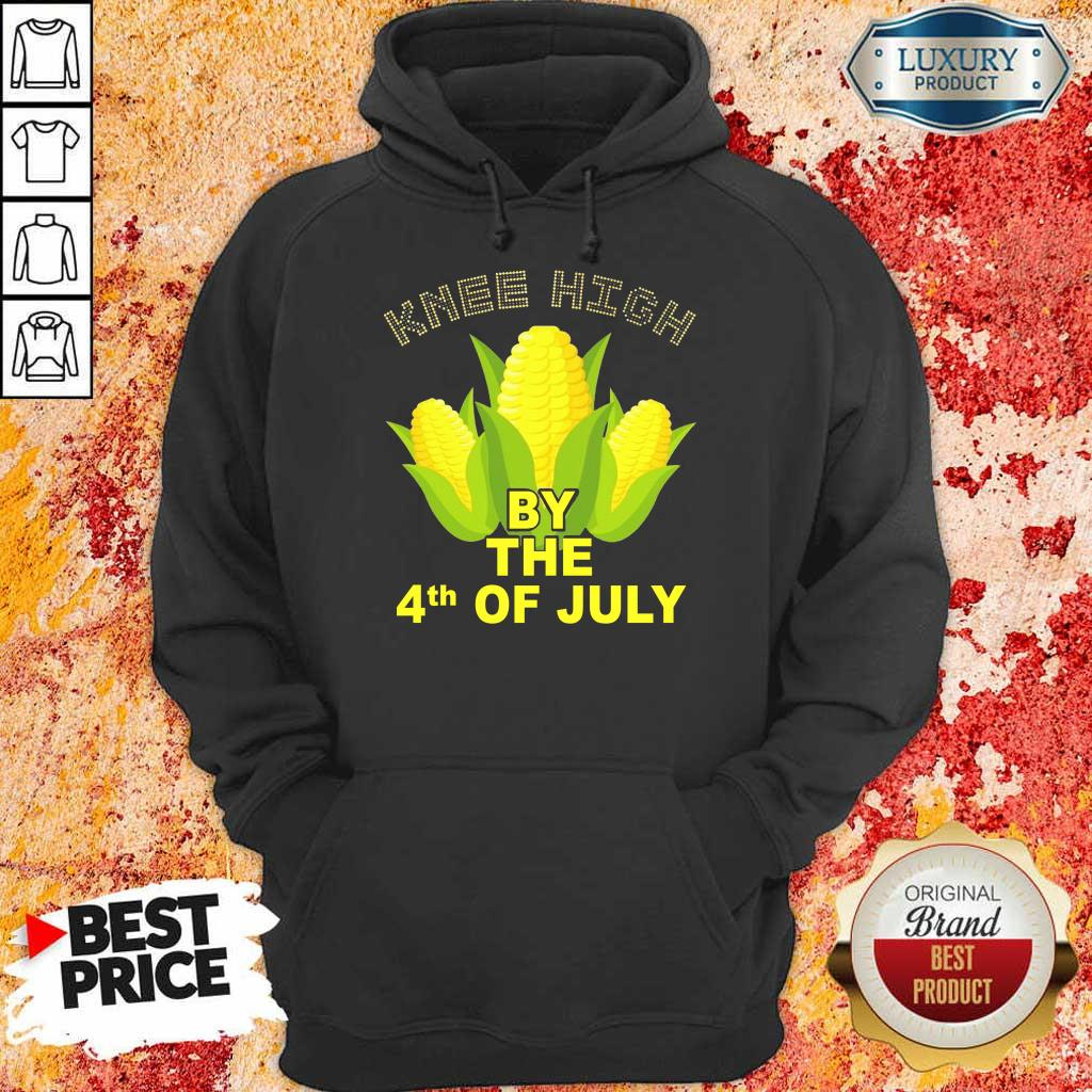 Knee High By The 4th Of July Corn Hoodie