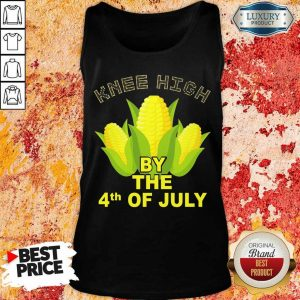 Knee High By The 4th Of July Corn Tank Top