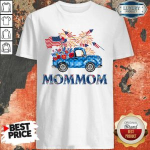 Truck Mommom 4th Of July American Flag Shirt